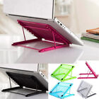 Mesh Tablet Laptop Pad Stand Holder Riser Folding Table Adjustable Support Home,
