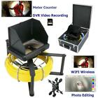Industrial Pipe Sewer Inspection Video HD 1080P Camera with Meter Counter  WIFI