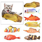 Pillow Chew Bite Toy Fish Flop Cat Wagging Toy for Indoor Cats Pets Kitten