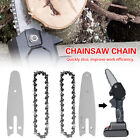 Chainsaw Chain / Guide For 4 inch Mini Electric Chainsaw Woodworking Cutter Set