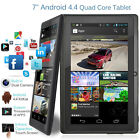 """XGODY Android 8.1 / 9.0 Tablet PC 7"""" Inch 16GB ROM WIFI Quad-Core Dual Camera US"""