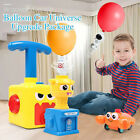 HOT Inertia Balloon Launcher  Powered Car Toy Set Toys Gift For Kids Experiment