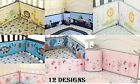 Baby Crib Bumper Safe Pads Boy Girl Choose Style Thicker Padding Many Designs