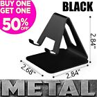 Cell Phone Stand METAL Desk Holder Mount Dock Cradle for Samsung iPhone LG MOTO