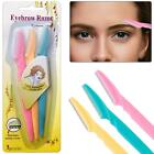 Women Ladies eyebrow razor trimmer Face Hair Removal Blade Facial Shaper Shaver