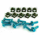 10x M6 Body Fairing Bolts Fastener Clips Screws Universal Motorcycle Scooter hs