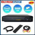 DVD Player 4K UHD- 1080P Upscaling DVD Player w/ HDMI AV output Cable  Remote