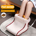 Portable Electric Heated Foot Warmer Detachable Feet Heating Boot Heater Shoes1