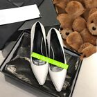 2021 new holesale runway fashion Cowhide pearl high heels shoes 35-40