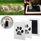 Pet Cat Dog Paw Print Baby Handprint Footprints Ink Pads Memorial Souvenir Kit