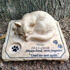 Personalized Dog Cat Pet Memorial Stone Cemetery Stepping Stone Grave Marker New