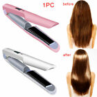Wireless Hair Straightener Curler Cordless Flat Iron USB Rechargeable 1