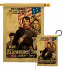 Flag of Liberty Garden Service Armed Forces Decorative Gift Yard House Banner