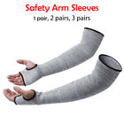 2PCS Safety Arm Sleeve Protect Anti Cut/Slash/Static Hands Long Protector Gloves