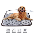 Pet Electric Heating Blanket Heated Mat Pad Cat Dog Winter Warmer 45cm 45cm