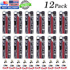 12PACK Ethereum PCI-E 1x to 16x Powered USB3.0 GPU Riser Extender Adapter Card
