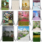Flower Garden House Background Cloth Photography Backdrop Props