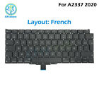 """New Laptop A2337 Replacement Keyboard For Macbook Air 13"""" M1 A2337 2020 EMC 3598"""