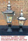 Victorian Lanterns with Cast Iron Bases Antique Style Lanterns & Cast Iron Bases