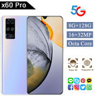 X60 Pro 6.6'' Large Drop Screen Android 10.0 Smart Phone 8 128G 5G-LTE Octa Core