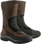 Alpinestars Campeche Drystar Oiled Leather Motorcycle Boots BROWN SHIPS FREE
