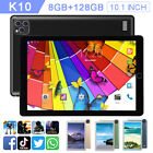 K10 10.1'' Screen Smart Tablet PC Android System 8G 128G 3 Lens Camera