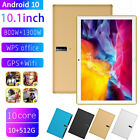 5G Android 10 Tablet 10.1 Inch PC Octa Core Camera Wifi GPS Dual SIM 10 512G