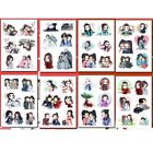 8 Pages/set Anime Shan He Ling WORD OF HONOR Wen Kexing Waterproof Stickers