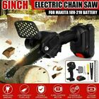 Cordless Electric Chainsaw Chain Saw Wood Mini Cutter Woodworking Pruning Cutter