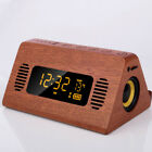 Wood Speaker Bluetooth Solid Wood With Wireless Phone Holder Function for Office