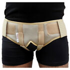 NEW HERNIA TRUSS BRASS SUPPORT BELT FOR UNISEX WITH TWO ADJUSTABLE PADS