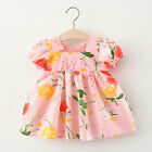 Toddler Baby Kids Girls Summer Floral Dress Princess Dresses Casual Clothes
