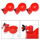3Pcs Poultry Watering Cups Coop Bowl Plastic Waterer Breeding Hen Quail