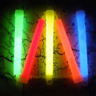 Multicolor Neon Wands Fluorescent Camping Sticks For Camping Party Decoration