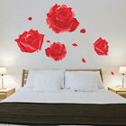 Roses Wall Stickers Vinyl Art Decals