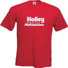 HOLLEY - Printed White on a Mens T-Shirt
