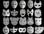 Unpainted plain/blank version Paper Pulp Mask(20 masks for ELECTION) SNA006c90