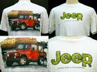 Red Wrangler sports jeep 4WD T-Shirt JEP004B JEP004W