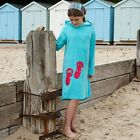 Boys Girls Childrens Mitty James Beach Hooded Towel Towelling Robe Dress Top