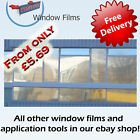 MIRROR SILVER 80% WINDOW FILM ALT TO BLINDS OR CURTAINS