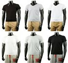 New Mens Sexy V-Neck & Crew Cotton T-Shirts Collection.