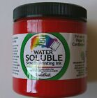 Speedball Water Soluble Screen Print Ink 8oz Sel Color