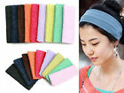 2pc New Fashion Stretch Sports Head Wrap Hair Band T63a
