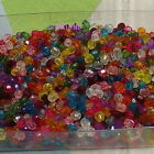Acrylic 4mm Faceted Round beads 400 pcs C584  U Pick