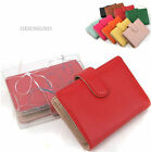 Genuine Leather Wallets Credit Card Wallet Coloful Money clutch Red purse