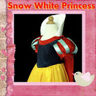 #188 Snow White Princess Halloween Christmas Party Girls Costume SZ 3-4-5-6-7-8Y