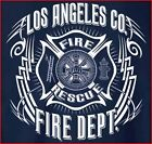 Los Angeles County F.D. T-shirt Tribal M L XL 2XL 3XL 4XL - Short/Long Sleeve