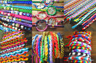 CHOOSE/ PICK YOUR 20 OR 25 FRIENDSHIP BRACELETS IN DIFFERENTS STYLES, FROM PERU!