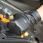 New WARMEN Men's GENUINE LAMBSKIN KID Leather winter warm fingerless gloves