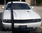 """5"""" Racing Rally stripe stripes decals decal graphics fit any Dodge Challenger"""